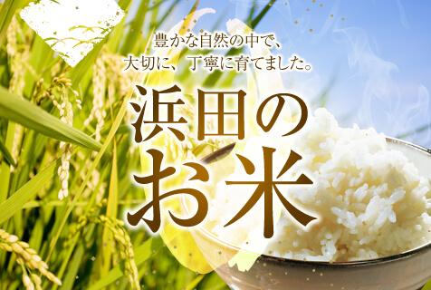 浜田のお米